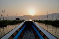 Motorised canoe