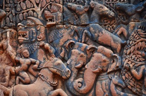 Carvings of Banteay Srei