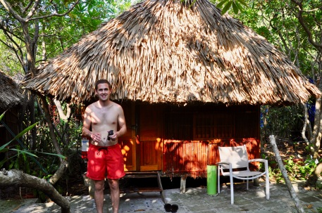 Our bungalow on Monkey Island!
