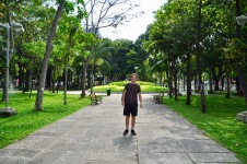 Green parks in Ho Chi Minh City