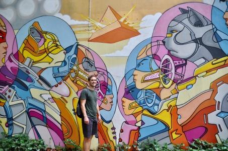Street art at Haji Lane