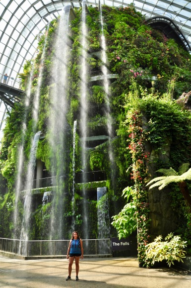 The largest indoor waterfall in the world