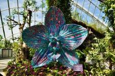 Orchid sculpture