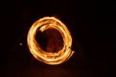 Fire dancing at Gold Coast