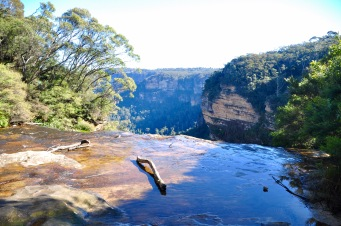 Top of Wentworth falls