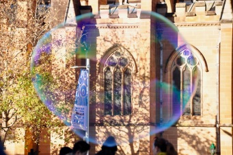 Cathedral bubbles
