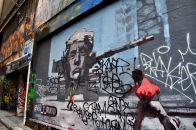 Trump Street Art