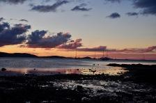 Sunset at Airlee beach