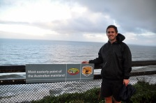 The most easterly point of Oz (Byron Bay)