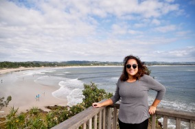 Overlooking Byron Bay