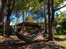 Lazing in Hervey Bay