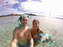 Snorkelling the Blue Lagoon