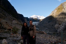 At the top of Fox Glacier