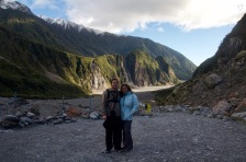 Fox glacier valley