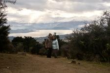 Wanaka views from Mount Iron