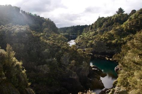 Huka river