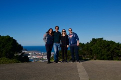 4 of us in Wellington