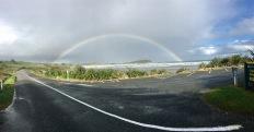 Full rainbow in Westport