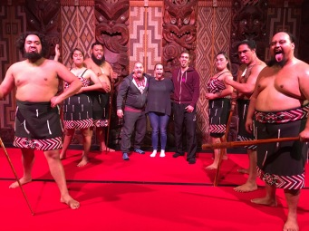 Maori cultural performers