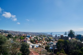 The view from Neruda's house