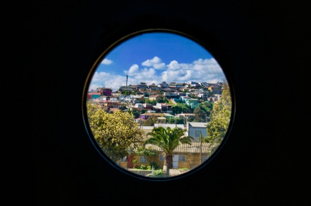 Valparaiso through Pablo Neruda's window