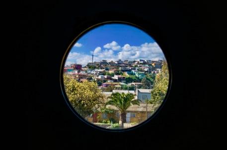 Valparaiso through Pablo Neruda's window