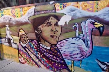 Indigenous street art