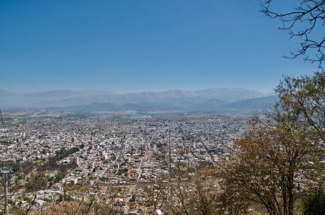 Salta from above