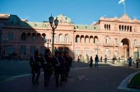 Casa Rosada, government building