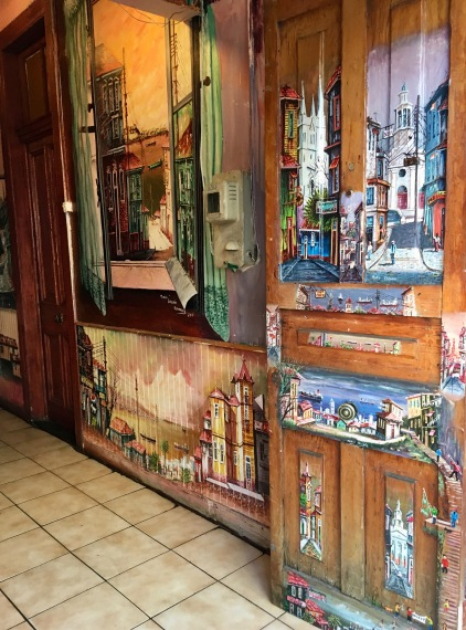 Cafe Pintor doors