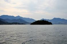 Boat across to Ilha Grande