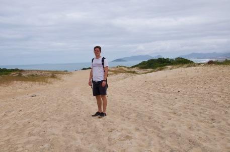 Joaquina sand dunes