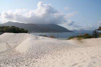Dunes overlooking Lagoa da Conceicao