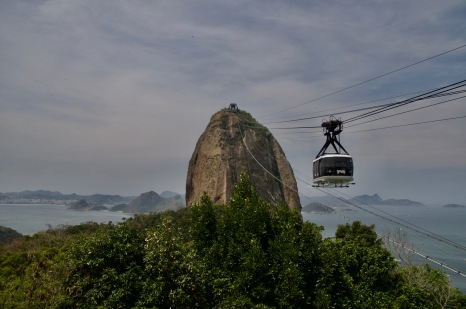 Cable car to the top of Sugar Loaf