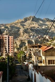 La Paz hills