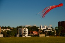 Kite flying, Encarnación