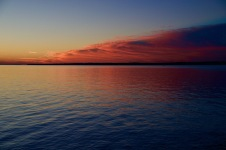 Colourful sunset, Encarnación
