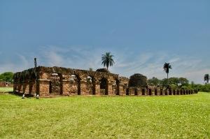 Jesuit ruins, Encarnacion, Paraguay