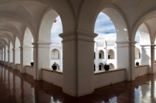 Inside San Felipe de Neri Church