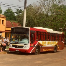 Bus from Foz de Iguacu to Puerto Iguacu (Brazil to Argentina)