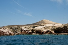 Islas Ballestas covered in birds