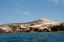 Islas Ballestas covered in birds