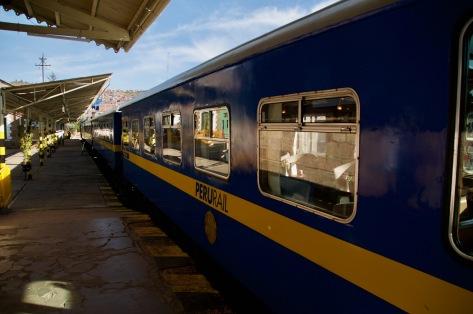 Peru Rail Titicaca train