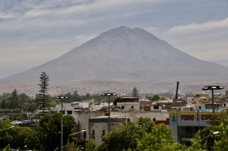 Volcanoes of Arequipa