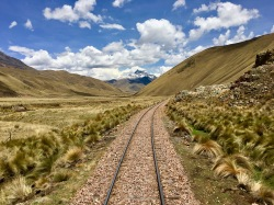 View from Peru Rail train