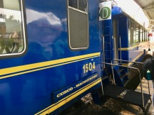 Peru Rail train to Machu Picchu