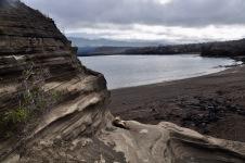 Coastal landscape of Santiago Island