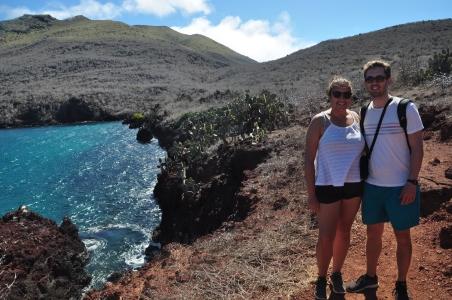 Us on Rabida Island