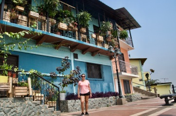 Colourful houses of Las Peñas