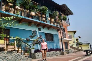 Colourful houses of Las Peñas